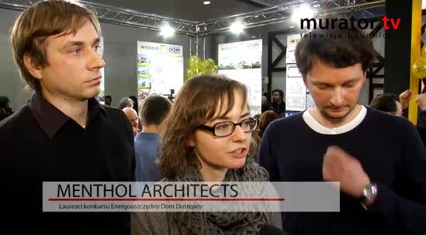 Laureaci Konkursu Energooszczędny Dom Dostępny Menthol Architects