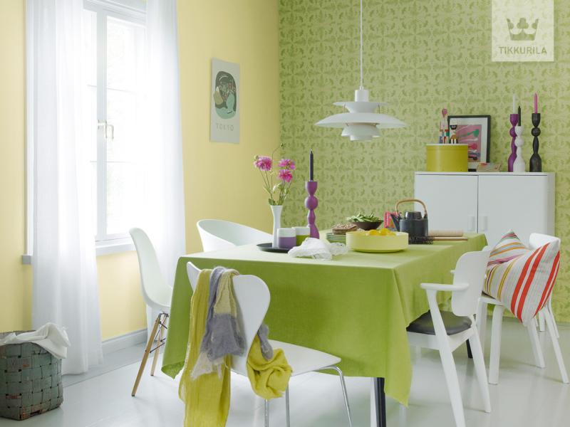 Kolory w kuchni. Jak dobrać meble, dodatki i farby do malowania ścian, by uzyskać spójną aranżację