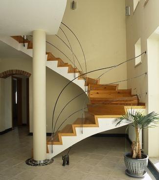 Rodzaje schodów: schody zabiegowe