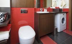 Aranżacja czerwonej łazienki - inspiracje i zdjęcia ognistych łazienek