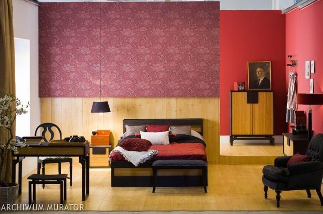 Czerwona sypialnia