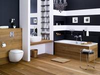 Łazienka ocieplona dzięki drewnu