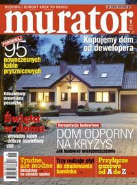 """Murator"" 1/2013 okładka"