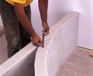 Ściany działowe z betonu komórkowego