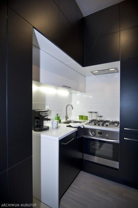 Galeria zdjęć  Czarna kuchnia Zobacz galerię kuchni   -> Czarna Mala Kuchnia