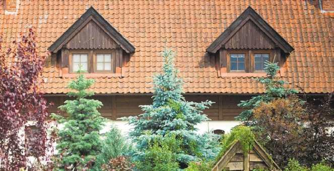 Dach z lukarnami