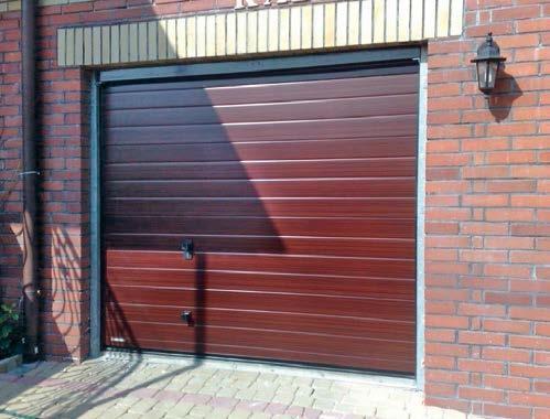 Brama garażowa po wymianie