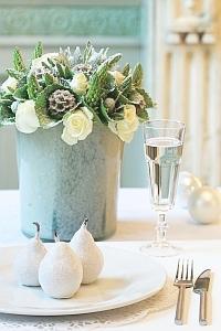 Róże na wigilijny stół
